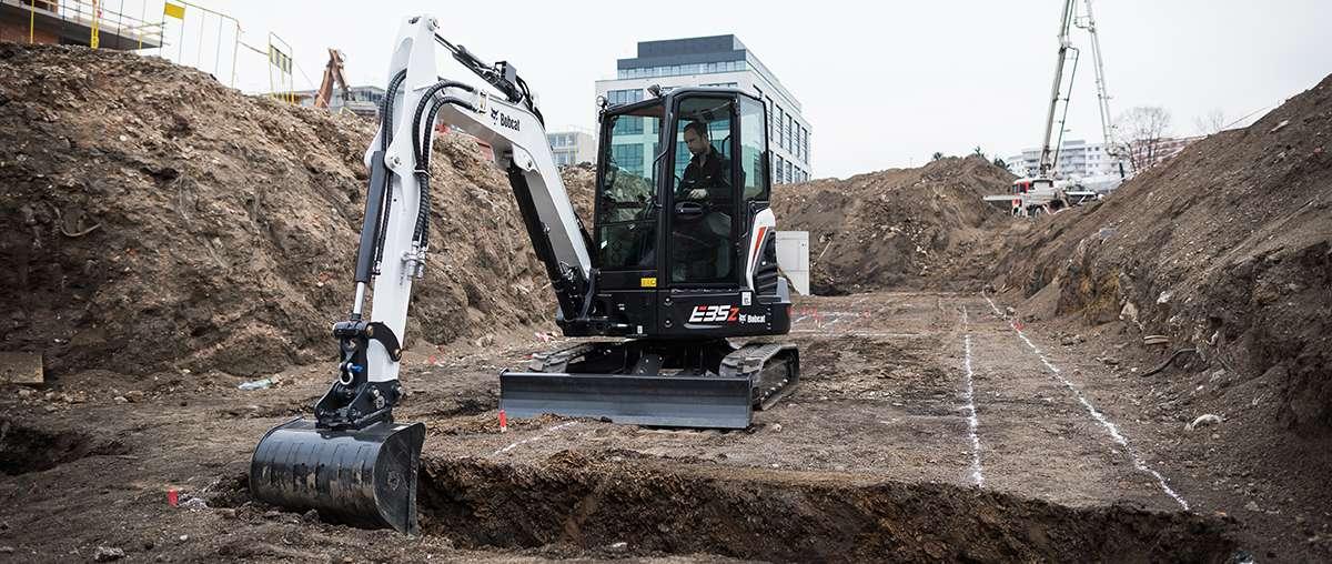 E35z Compact Excavator Bobcat