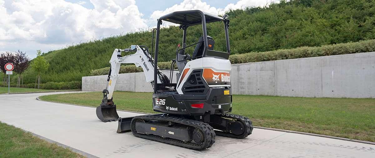 E26 Compact Excavator Bobcat