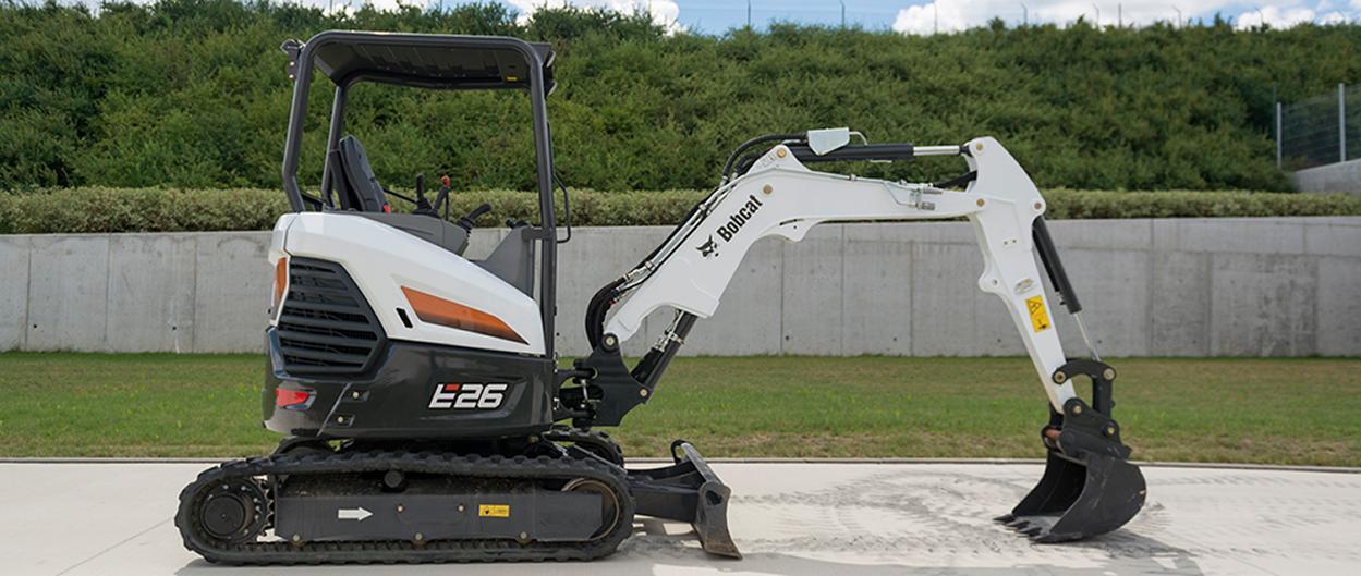 E26 Kompaktbagger Bobcat