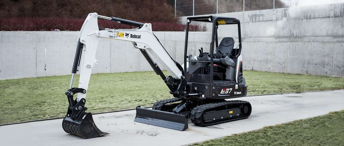 E37 Compact Excavator Bobcat