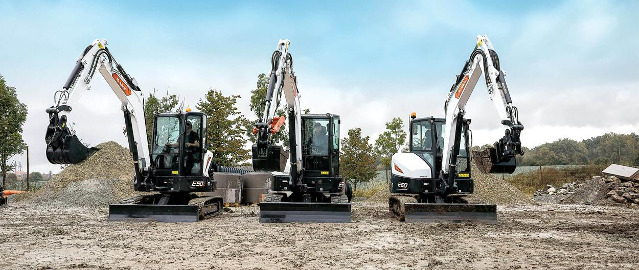 R2-Series 5–6T Mini Excavators