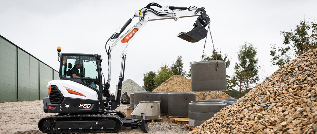 Excavadora compacta (mini) Bobcat E60