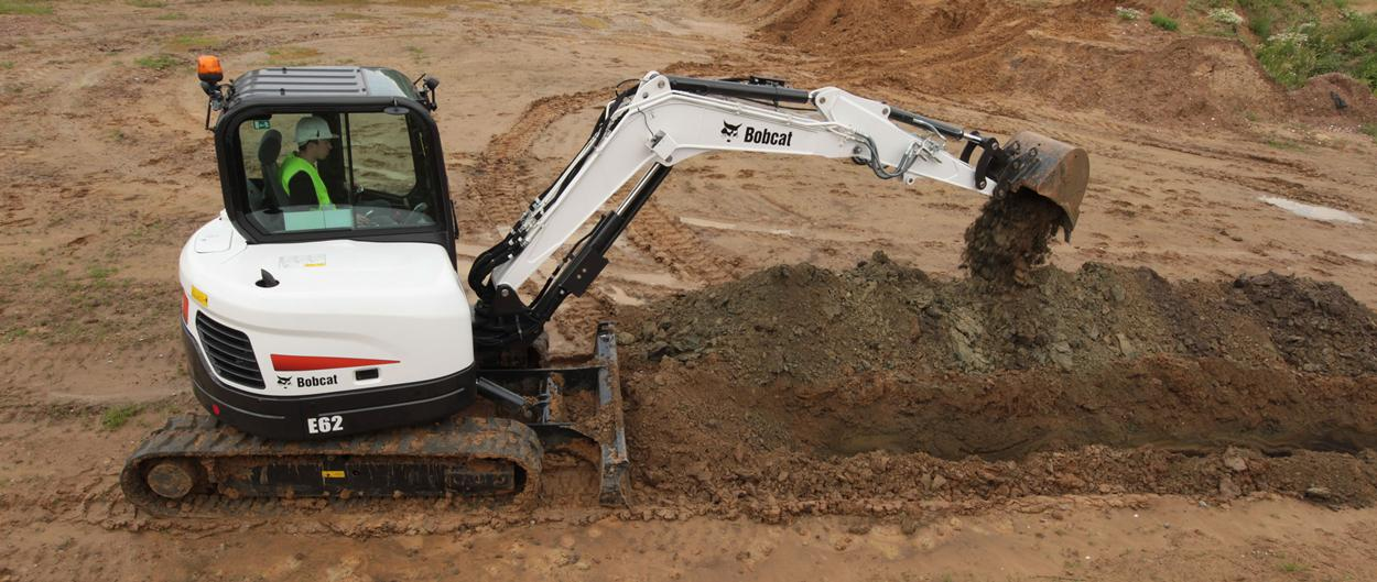 Bobcat E62 compacte (mini-)graafmachine