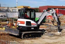 Bobcat E45 Compact Excavator (Interim Tier4)