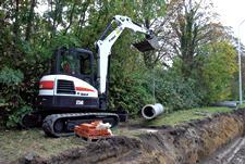 Bobcat E50 Compact Excavator (Interim Tier4)