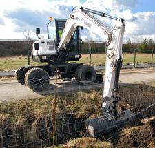 Bobcat E55W Compact Excavator (Interim Tier4)