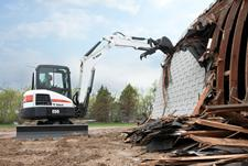 Bobcat E55 Compact Excavator (Interim Tier4)