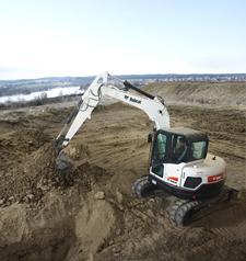 Bobcat E80 Compact Excavator (Interim Tier4)