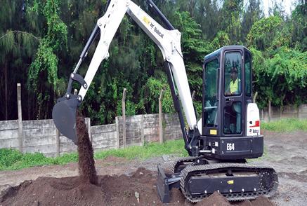 E64 Compact Excavator