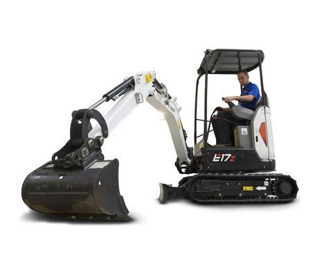 Bobcat E17z Compact Excavator
