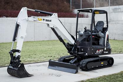 Bobcat E37 Compact Excavator