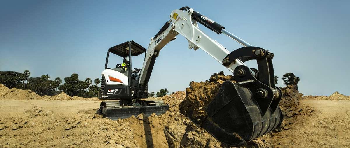 Bobcat E27 Compact Excavator