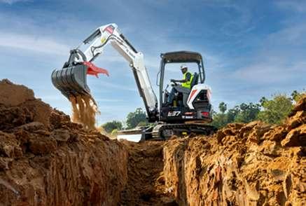 E37 Ultra HD Compact Excavator