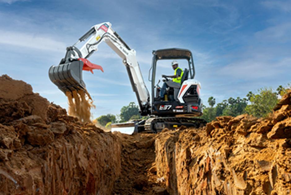 Bobcat E37 Ultra HD Compact Excavator
