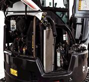 Redesigned Bobcat Engine