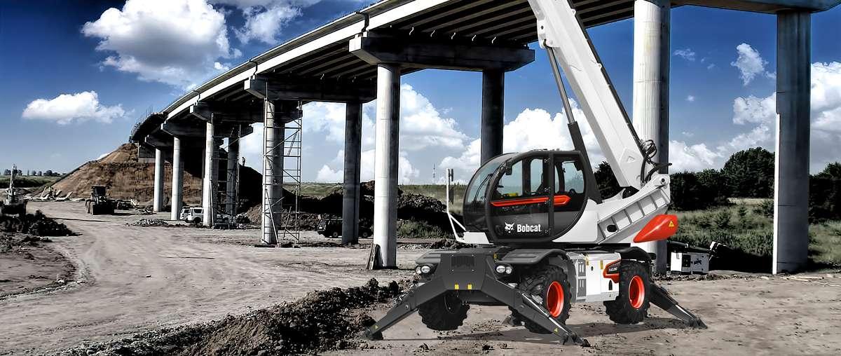 Bobcat-Teleskopen TR50250
