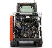 Tailgate access on Bobcat skid-steer loaders and compact track loaders.