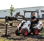 Add Bobcat attachments and manage more projects and more jobs with one machine. You can adapt to a new task in minutes.