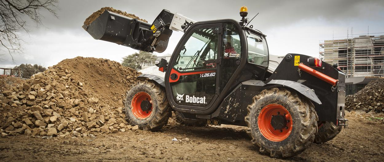 Bobcat TL26.60 Telescopic Loader with Bucket Attachment