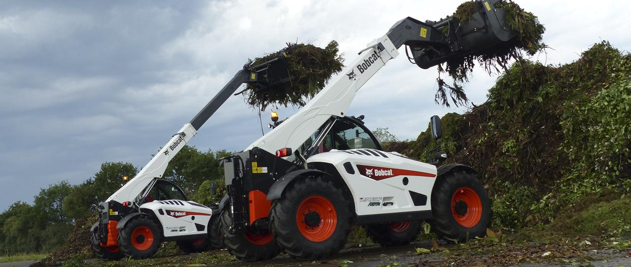 New TL34.65 AGRI Telescopic Loader - Lifts up to 3.4 tons and place loads at nearly 6.5 m lift height.v