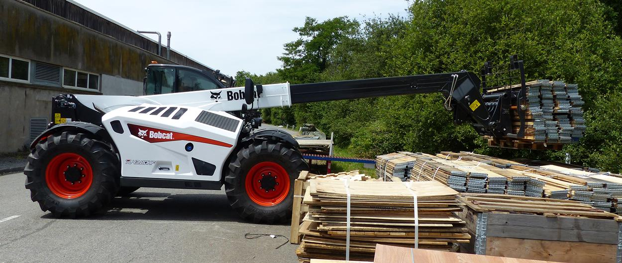 TL43.80HF Telescopic Loader Bobcat