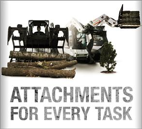 Search for Bobcat attachments.