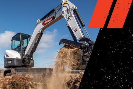 Revolutionary R2-Series Compact Excavators