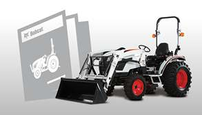Bobcat Compact Tractor Brochure Promotional Image