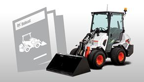 Bobcat Small Articulated Loader Brochure Promotional Image