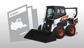 Bobcat Skid-Steer Loader Brochure Promotional Image
