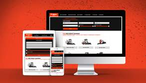 Bobcat Used Equipment Website Preview