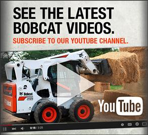 Bobcat equipment videos on YouTube.