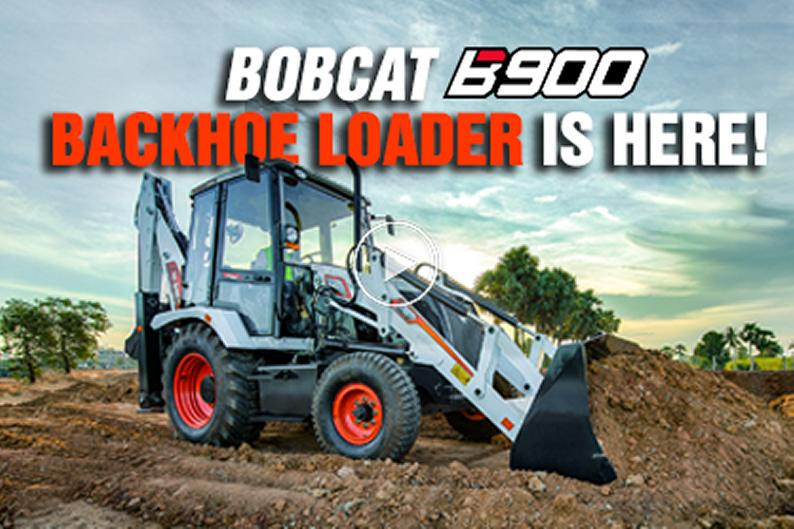 BOBCAT B900 UNVEILED