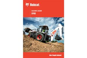Bobcat® B900 Backhoe Loader