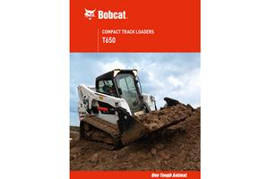 Bobcat® T650 Compact Track Loaders