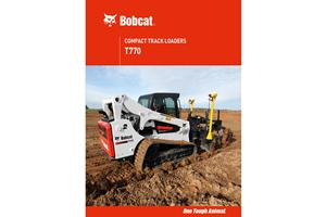 Bobcat® T770 Compact Track Loaders