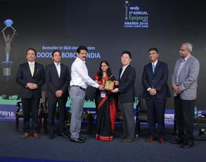 winning the EQUIPMENT INDIA Bestseller Award in Skid-steer loaders