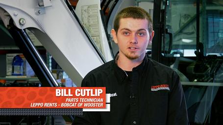 Headshot of Bobcat of Wooster service technician Bill Cutlip.