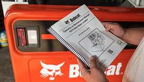 Bobcat Customer Holding Compact Equipment Manual