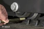 Bobcat excavator daily inspection procedure.