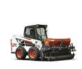 Bobcat S550 skid-steer loader.