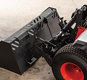Bob-Tach System On Bobcat Small Articulated Loaders""