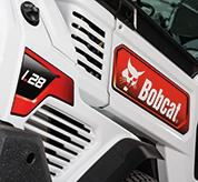 Vents Inside Bobcat Small Articulated Loader Cab