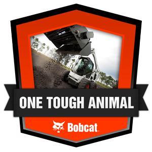 One Tough Animal Badge