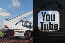 Канал Bobcat на веб-сайте сервиса YouTube