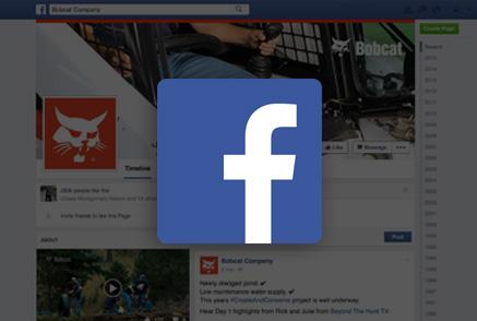 Screenshot of Bobcat Facebook page.