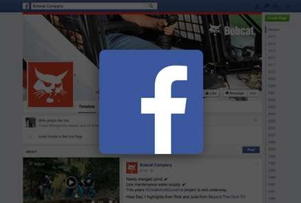 Screenshot of Bobcat Facebook page.