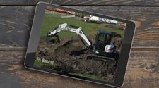 Bobcat compact excavator (mini excavator) operator safety video.