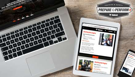 Devices With Bobcat Equipment Owner Online Resources