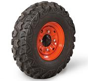 Standard tires for Bobcat 3400 and 3400XL UTVs.